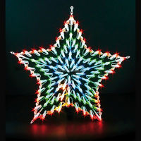 New star shaped LED Window Light christmas Xmas motif window lights waterproof indoor outdoor