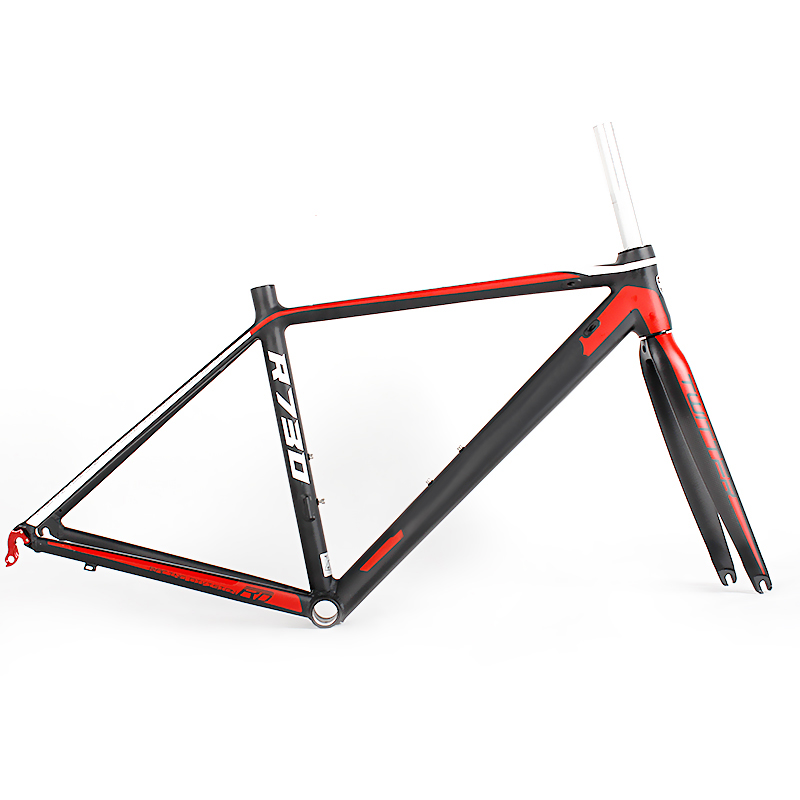 Bicycle parts accessoriesAL7005 Frame+Carbon T800 Fork