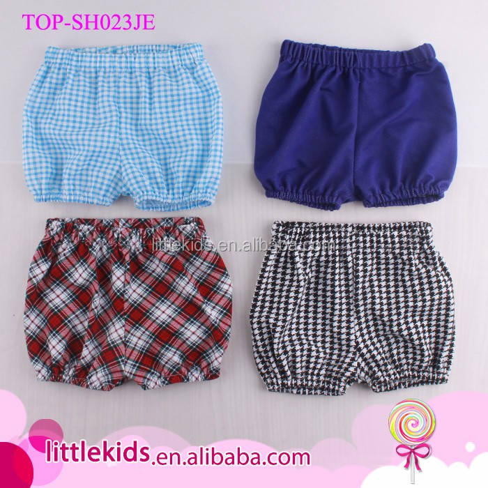 Fashion Summer Cotton Kids Boys Hot Beach Shorts Plaid Baby Boy Shorts