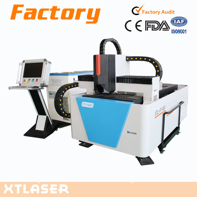 XTF-1460 500w 750w 1000w computerized mini cnc fiber laser cutting embroidery machine