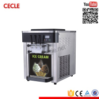 Economic heavy duty soft serve ice cream machine