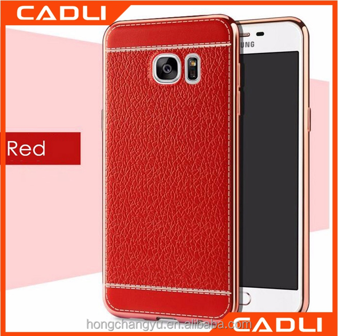 Soft Comfort Plating Silicone Back Cover Phone Bags Cases for Samsung Note 5
