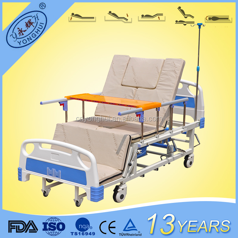 JZYH-DH04 Durables Strong Electric Manual Bed Handicap Furniture