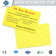 Promotional RFID blank Card with ultralight ev1 chip for Access control