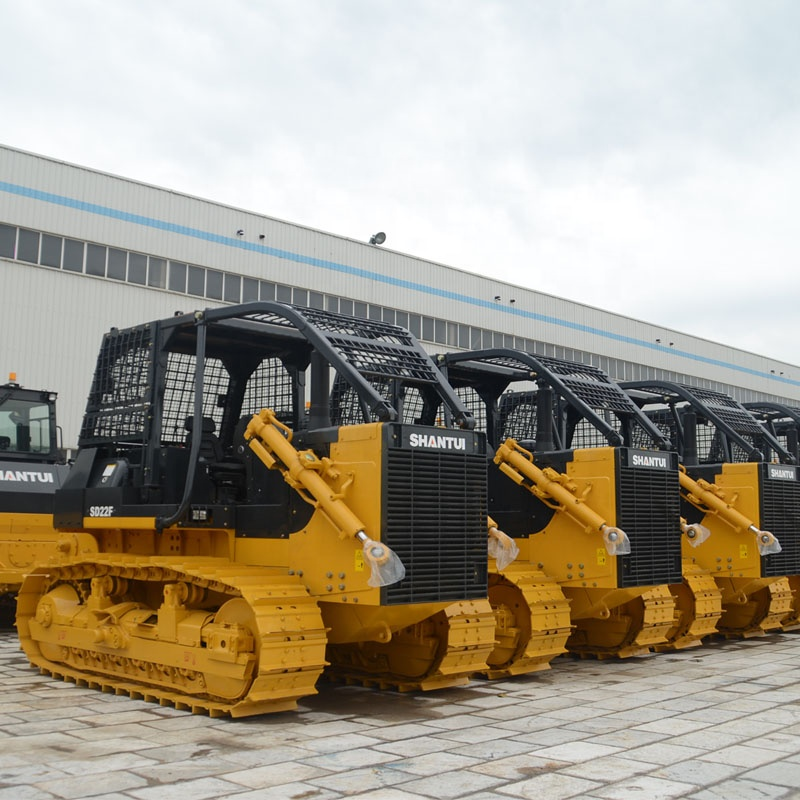 SD22W Rock types bulldozer with single shank ripper