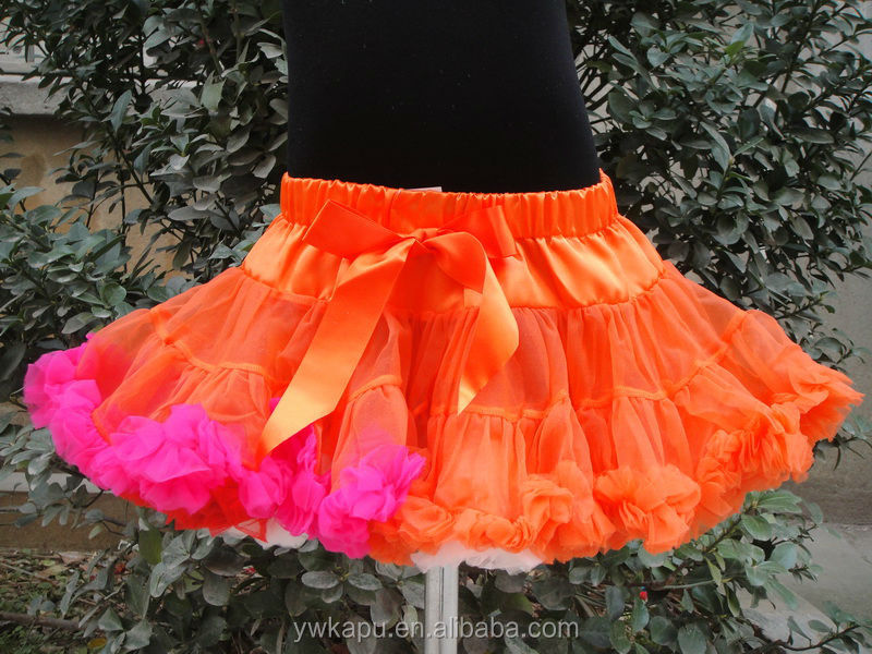 fashion young girls mini skirt halloween skirt in stock