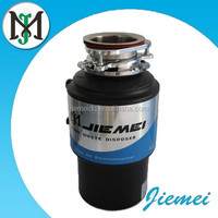 Purified stainless steel food waste food disposer with the air switch control