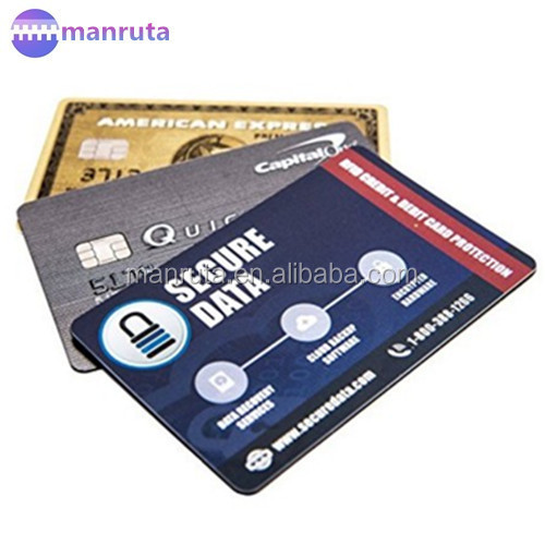 RFID Blocking card Sleeves, Shields, Guards Protectors Protects your ID Credit Card from Scams & Theft. FITS ALL Wallet