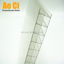 Multiwall Polycarbonate Hollow sheet Plastic Roofing Panel