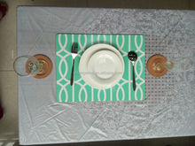 Heat Protective dining table plate mat