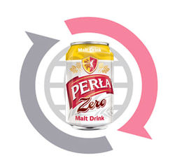 Perla Malt Drink - non alcoholic beverage 330ml