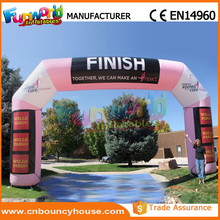 Air tight inflatable archway inflatable arch for outdoor events