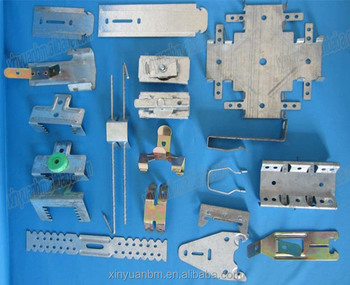 Zinc coated galvanized Plating ligth steel Keel ceiling Accessories lock and clips Made In China