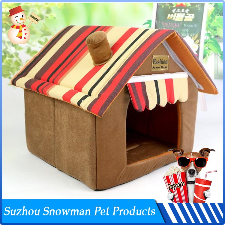 Factory Direct Sale Cheap Plush insulated dog house for sale