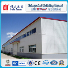 Construction Design Steel Structure Fabricated Warehouse