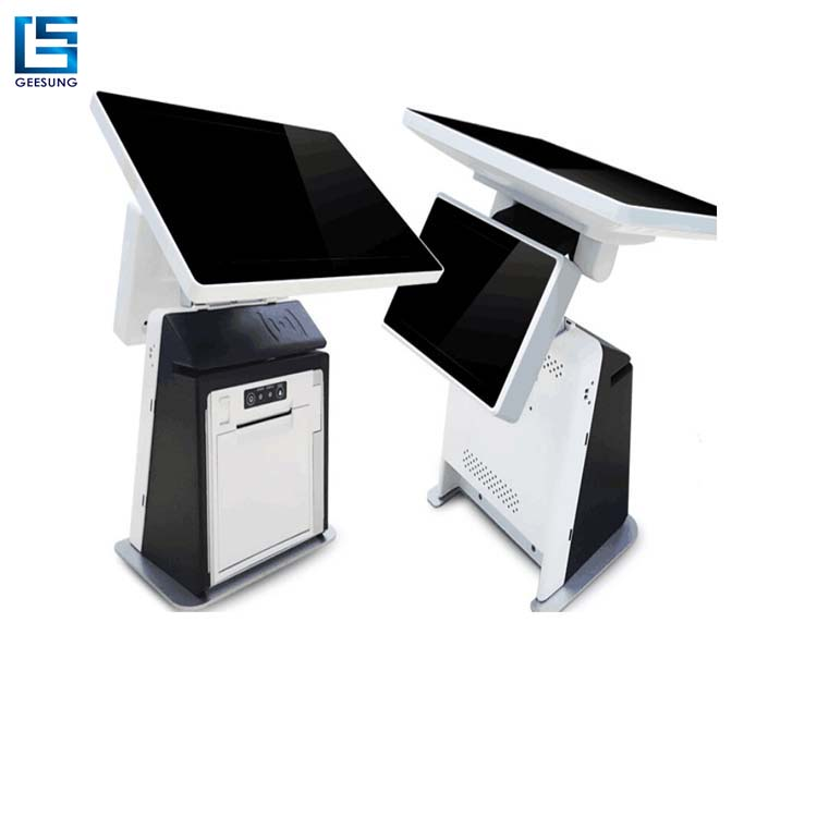 9.7 Inch Android Pos Terminal With 80mm Thermal Printer Built In With Dual panel Pos Terminal Available