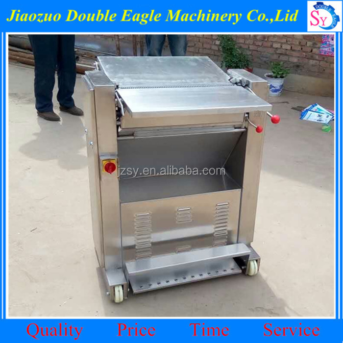 High output profession Automatic Pig Skin Removal Machine/steak processing machine for sale