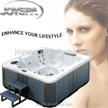 JY8016 Outdoor spas hot tubs with 44 jets led hot tub underwater light
