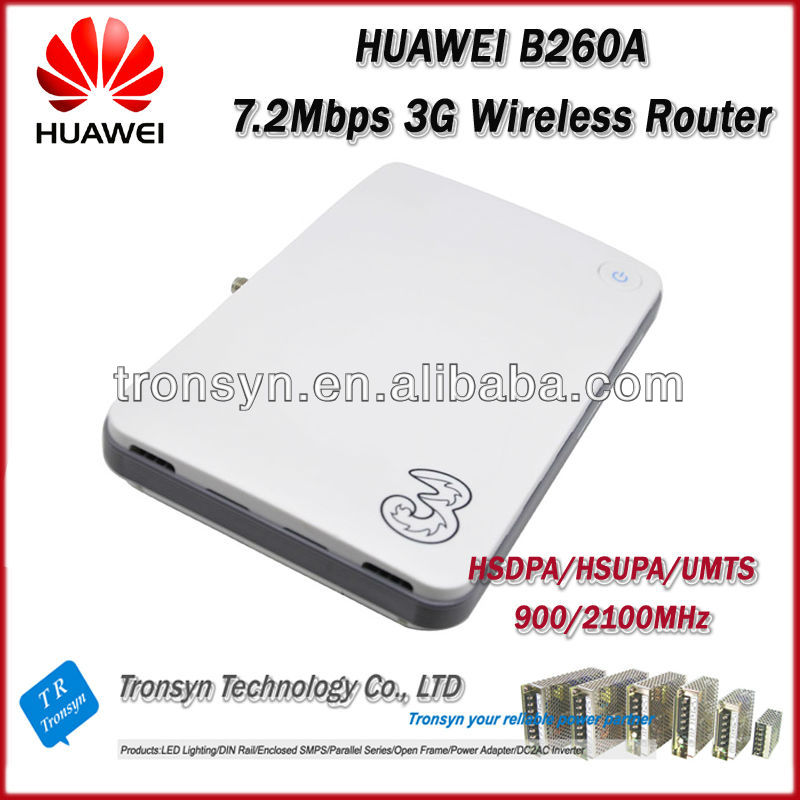 Original Unlock 7.2Mbps B260A 3G HSDPA Wireless WiFi Hotspot