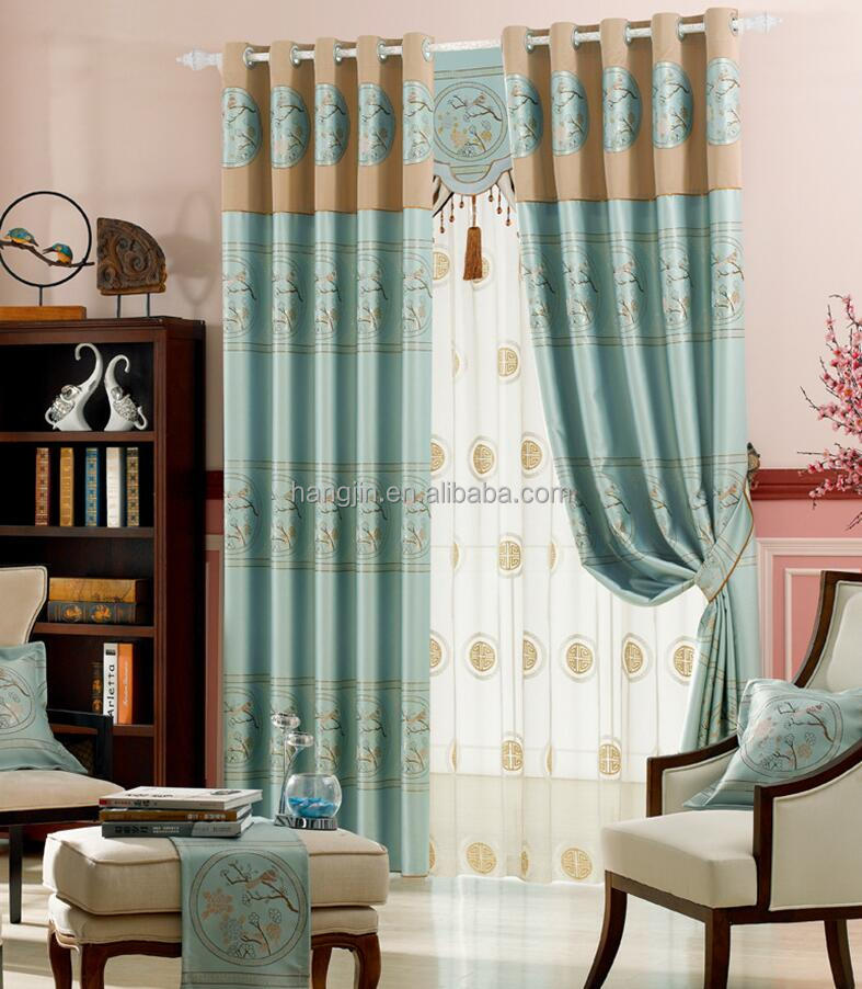 Curtain Made In Nantong For Hotel,Home,Cafe New Design Curtain