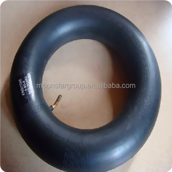China high quality motorcycle butyl inner tube 4.00-8