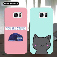 Mobile accessories cat cell phone cases covers For Samsung galaxy s5 cases
