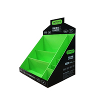 CMYK Printing Counter Display, Shelves Counter Display for Electrophile Accessories