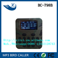 factory price device with bird sounds 50w hunting bird mp3 player with remote control
