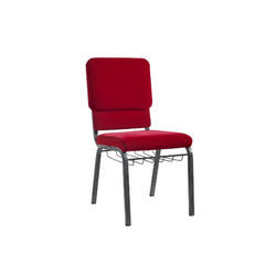 Connecting Church Chair With Rack Metal Red Pastor padded Church Chair Used For Sale Maroon Fabric Conference foldi Church Chair