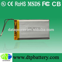 High Quality Lithium ion 3.7v 2000mAh Battery Packs