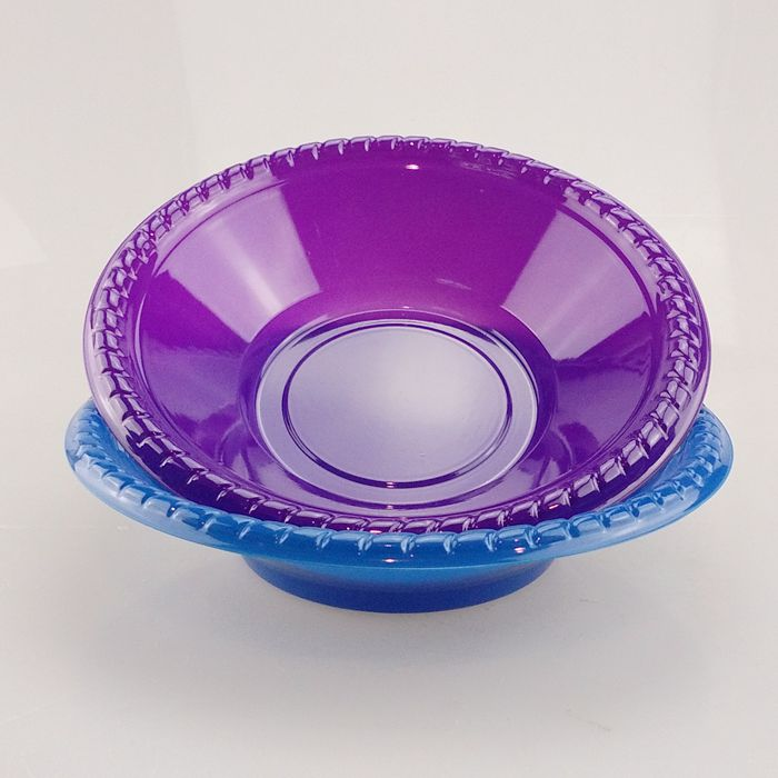 Colorful Disposable PS Plastic Plate