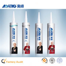 Factory Direct Supply OEM Non-toxic Glass Silicone Sealant Neutral Fireproof Glass Glue Raw Material Polyurethane