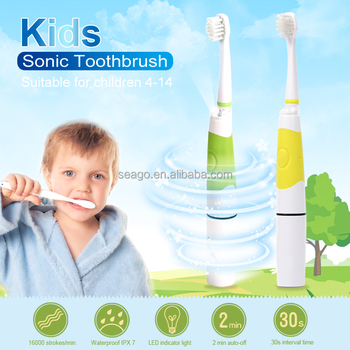 wholesale Children kids sonic Electric Toothbrush with LED SG918