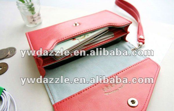 stylish mobile phone protective cases with card holder wallet