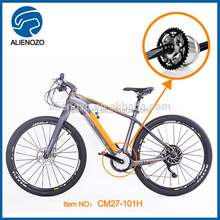 2016 new mid drive mountain e bike hidden battery battery powered carbon electric bicycle 250W 300W 350W 400W 500W 550W