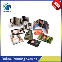 Birthday Invitation Cards 4 colour offset printing Digital Picture Printing