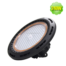 60 Degree Beam 240W UFO High Bay LED Industrial Lights IP65 Replace 1000W HID Highbay Workshop Warehouse Lighting