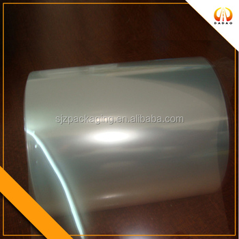 transparent thick pet film for reflective base film