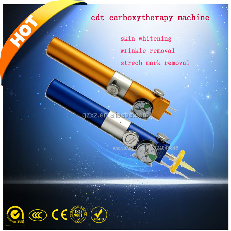 eye wrinkle remover pen/carboxy therapy equipment/cdt carboxytherapy machine
