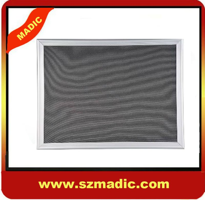 Aluminum framed notice board