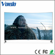 New design wholesale 55 inch led tv with 2160 p 4K curved tv
