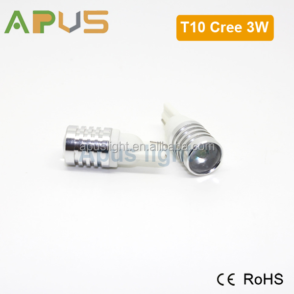 100LM 194 led bulb 3W XBD for Dashboard