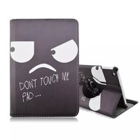 For Apple iPad Mini 4 Cartoon Print Flip Leather Cover Case
