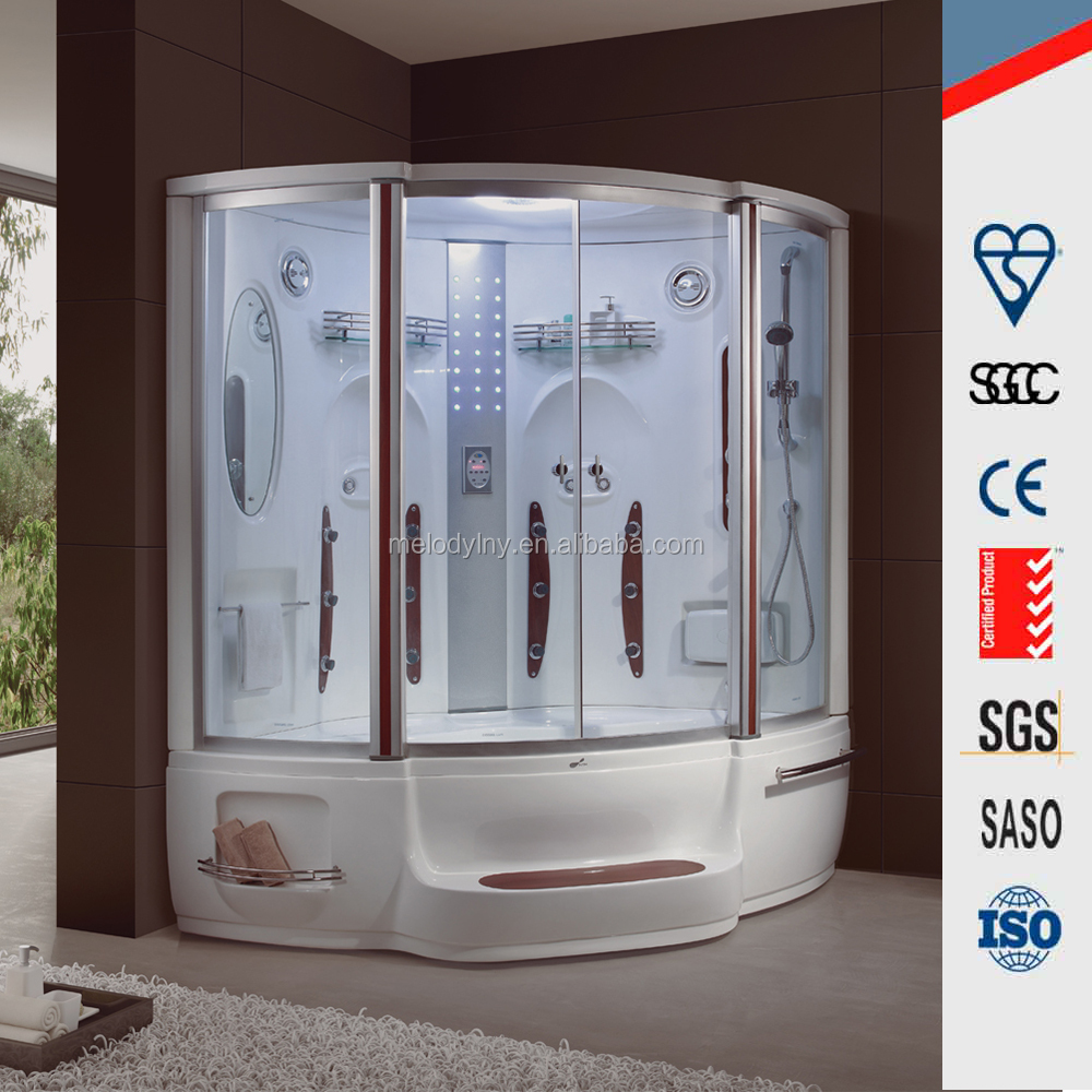 High quality multi-function sauna steam combined / ozone steam sauna /sauna steam generator with shower room for sale