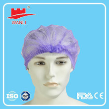 Cheapest airplane disposable non woven PP surgical head covers