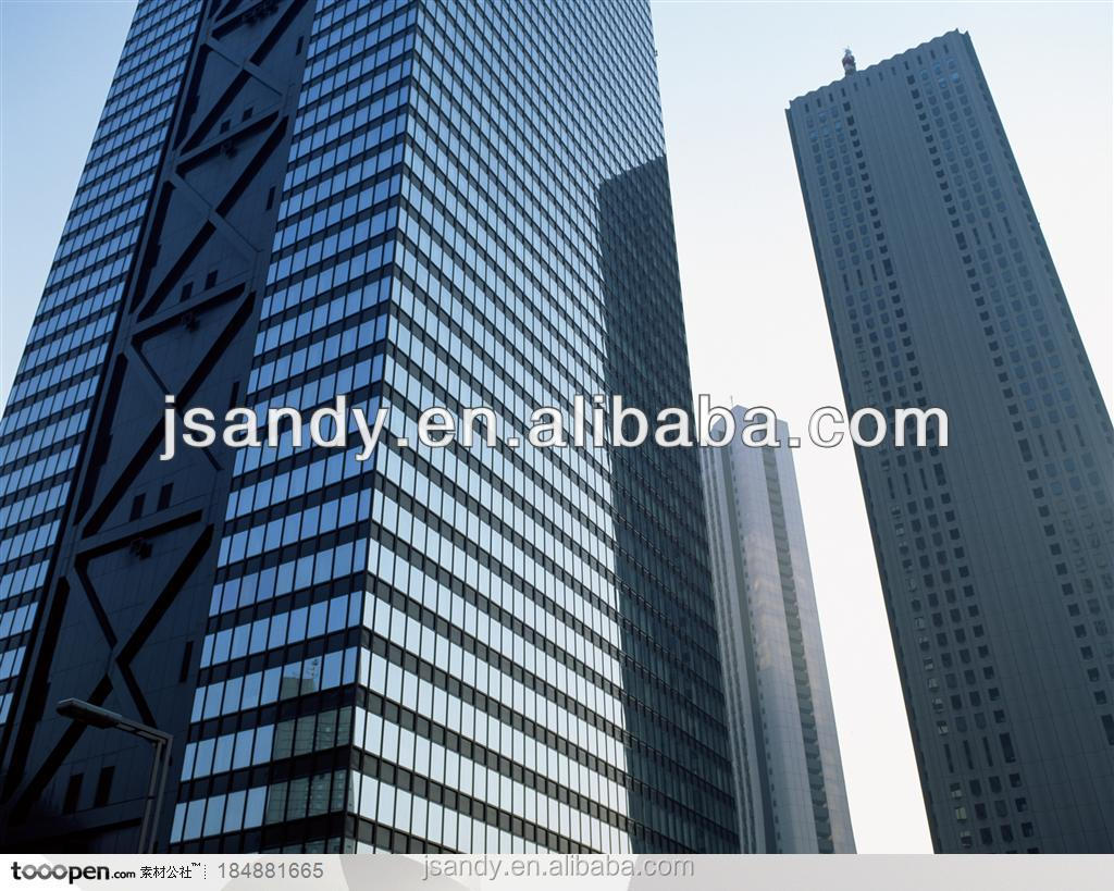 Hot sale! ANDY Jiangsu China Structural Glass Facade Curtain Walling Systems