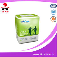 new style soft disposable bulk adult diapers with wetness indicator