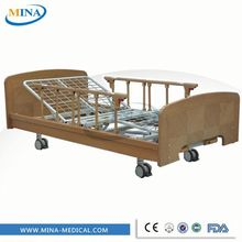 Powder Coating Steel Care Bed for Children Medical Bed for Kids with Adjustable Bed Board