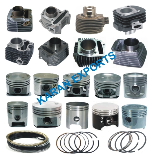 piston cylinder kit bajaj kawasaki kb 100 49.50mm