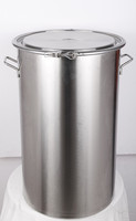 30L stainless steel whiskey barrel with handle